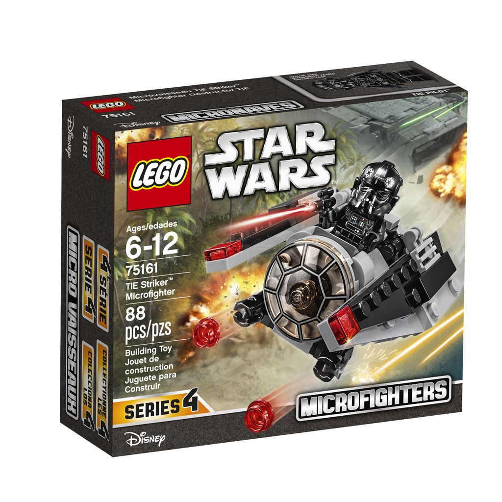 lego® star wars tie striker™ microfighter (75161)