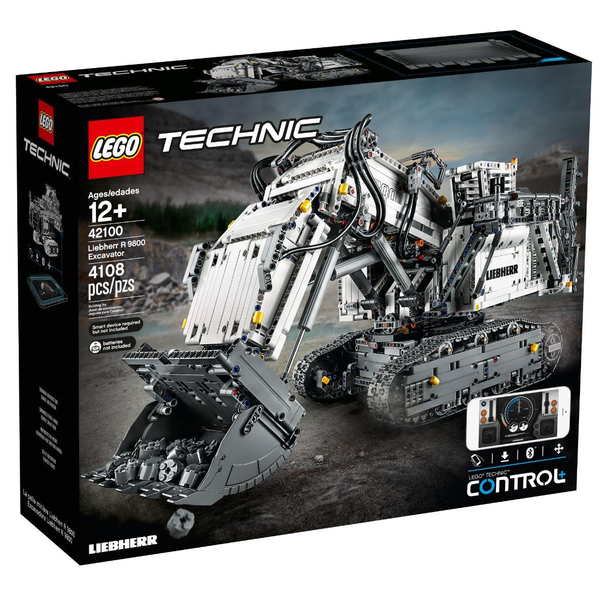 LEGO® Technic - Excavator Liebherr R 9800 (42100)