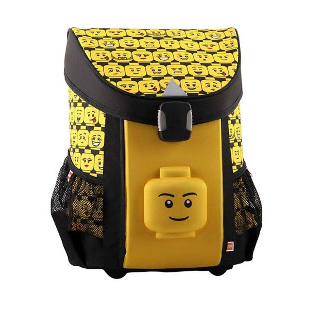 Ghiozdan scoala Easy LEGO® Core Line, Minifigures Heads