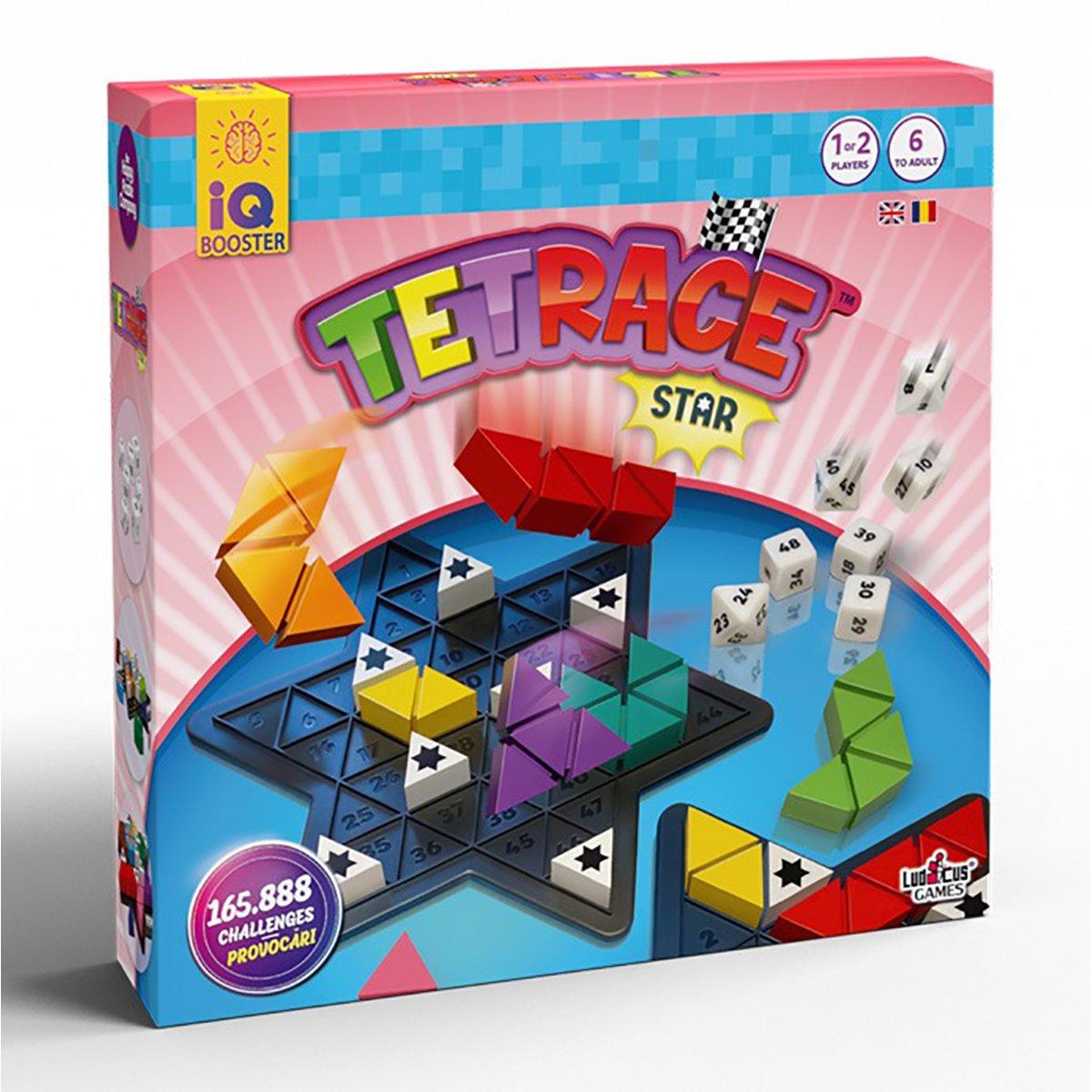 Joc educativ IQ Booster - Tetrace Star