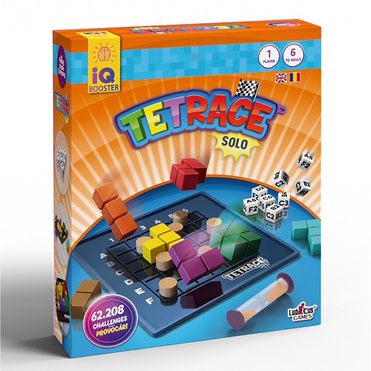 Joc educativ IQ Booster - Tetrace Solo