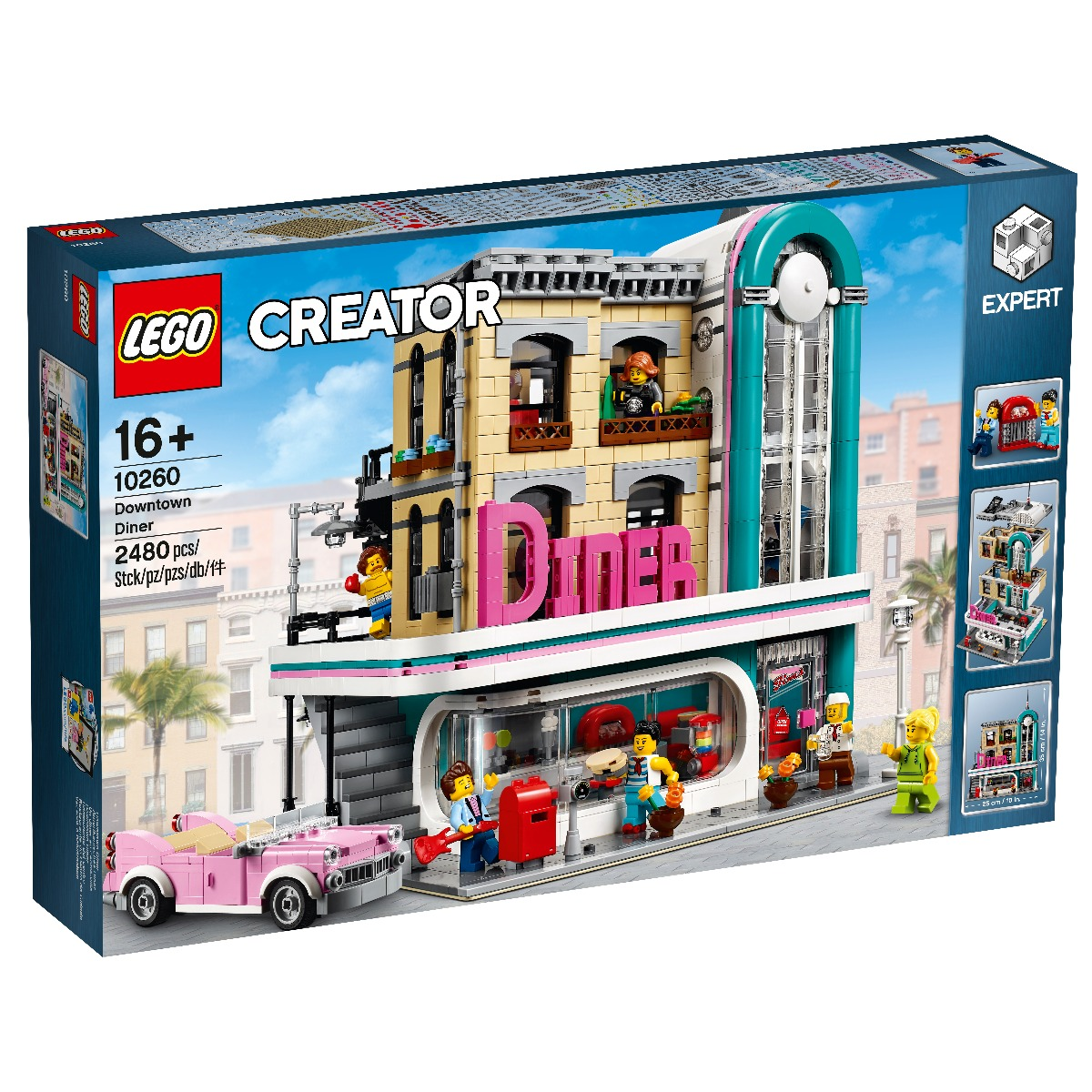 LEGO® Creator Expert - Restaurant din centrul orasului (10260)