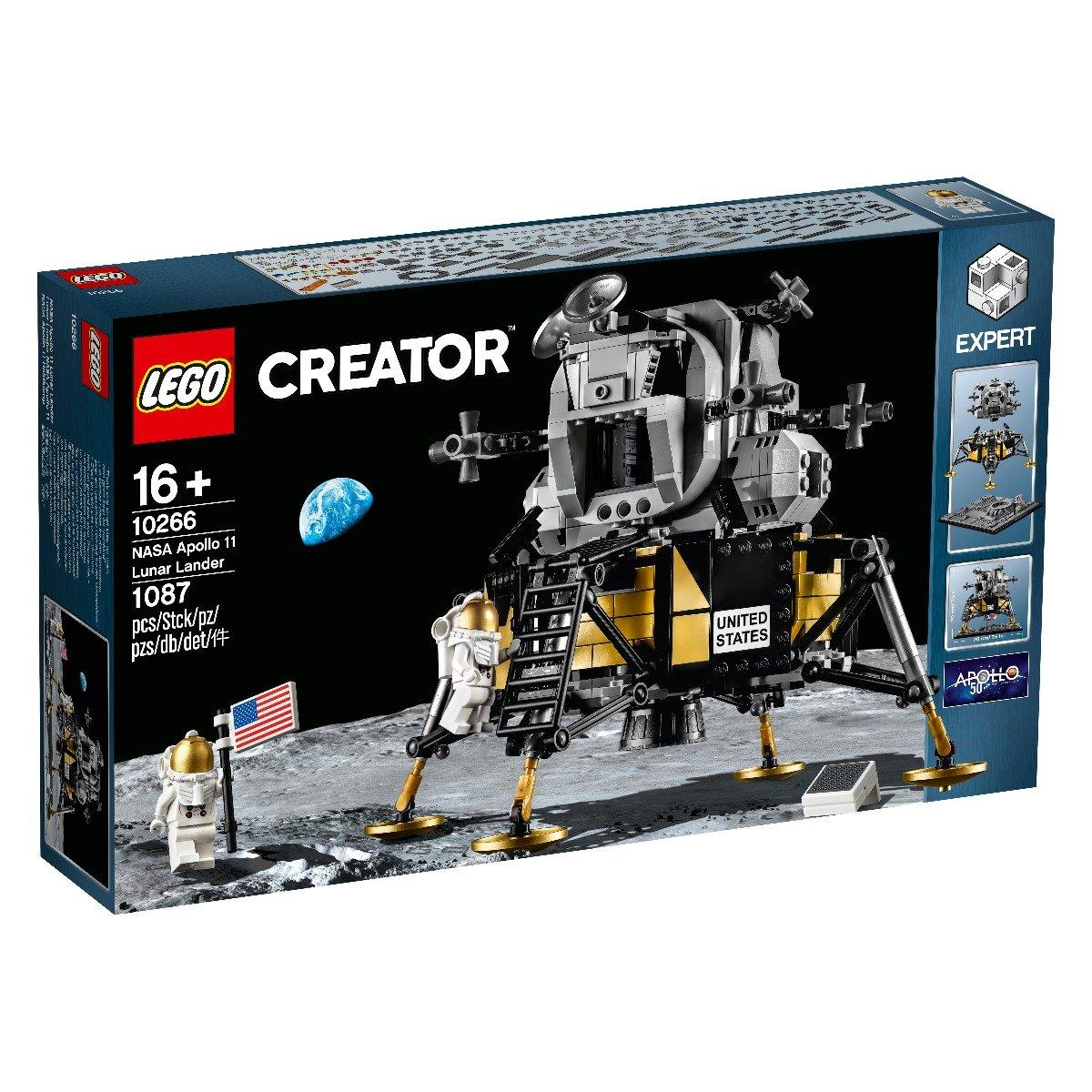 LEGO® Creator Expert - Modulul lunar Apollo 11 NASA (10266)