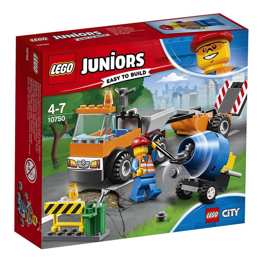 lego® juniors - camion pentru reparatii (10750)