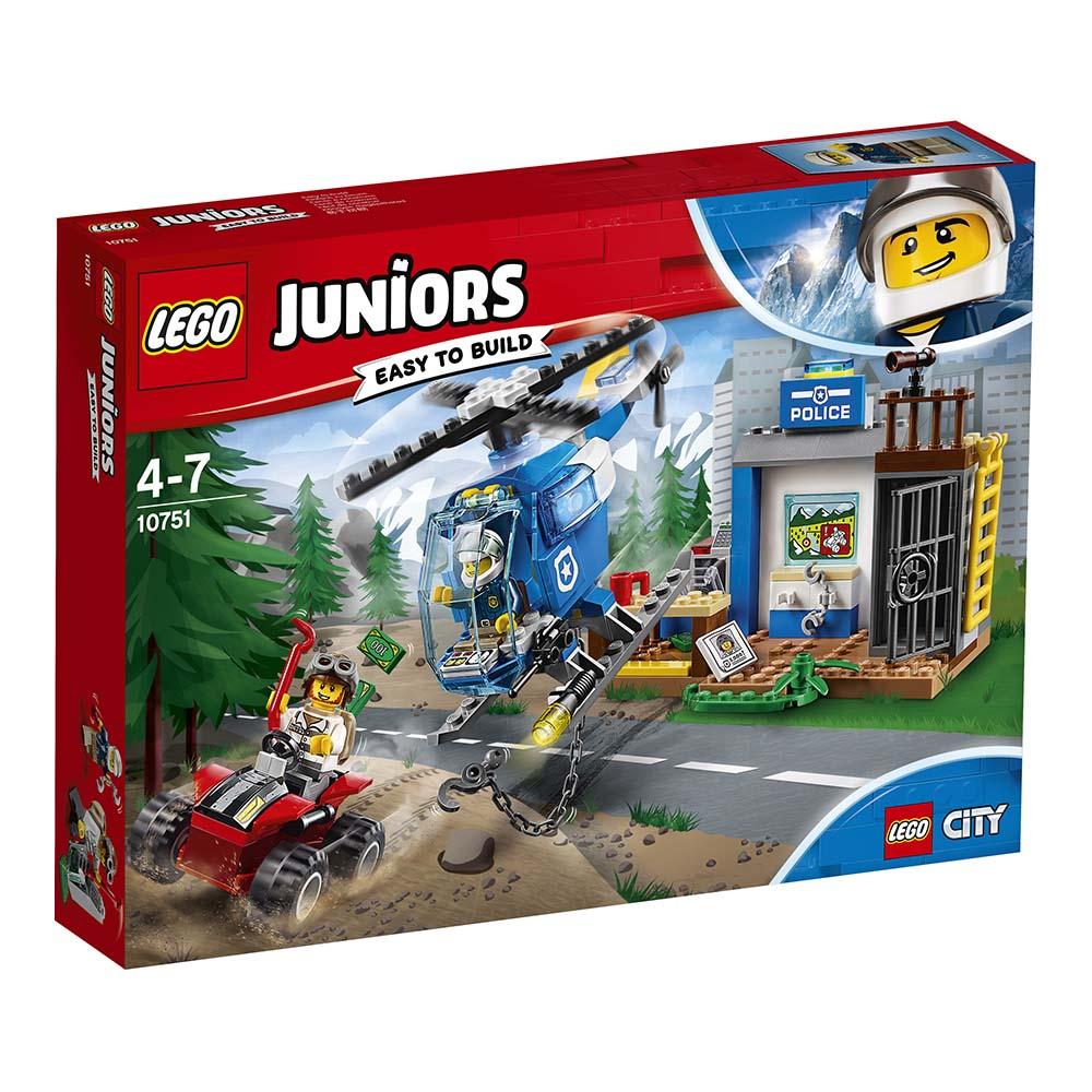 lego® juniors - urmarire pe munte (10751)