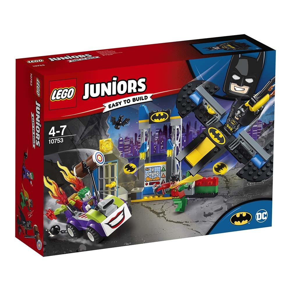 Poza LEGO® Juniors - Atacul lui Joker in Batcave (10753)