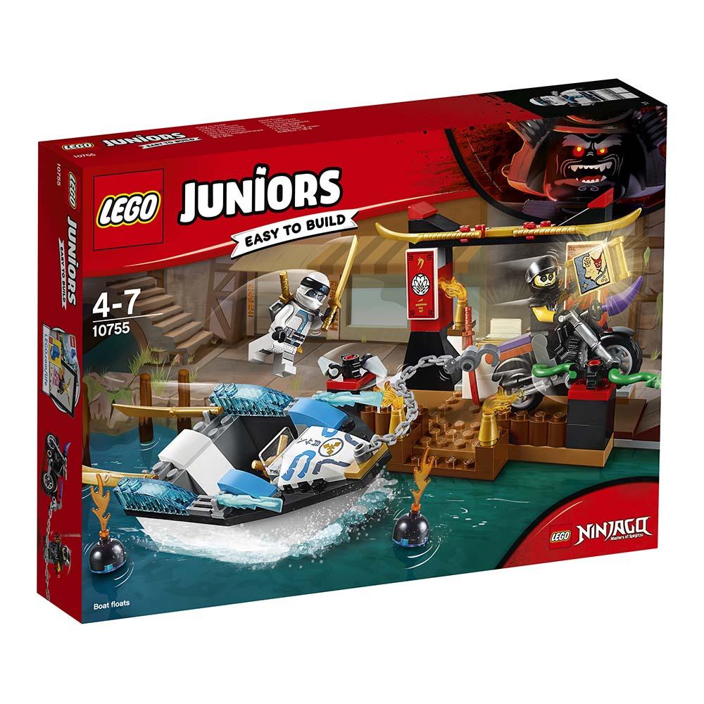 lego® juniors - urmarirea lui zane (10755)