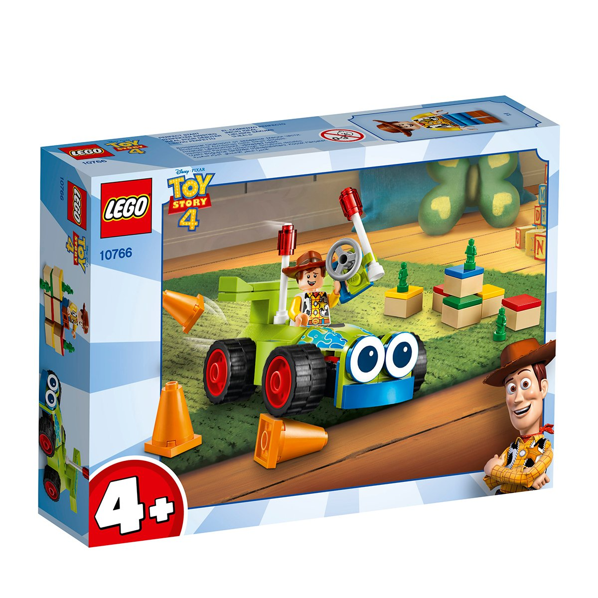 LEGO® Disney Pixar Toy Story 4 - Woody si RC (10766)