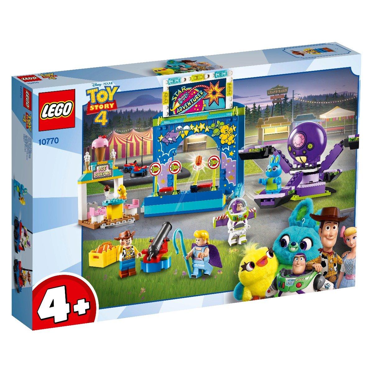 LEGO® Disney Pixar Toy Story 4 - Carnavalul lui Buzz si Woody! (10770)