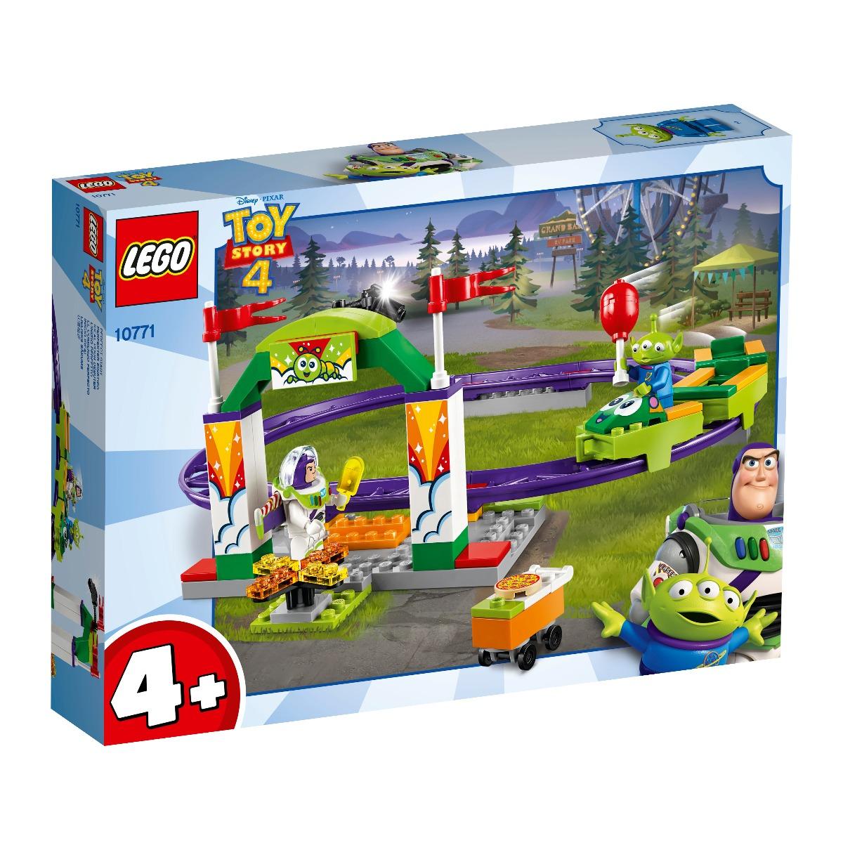 LEGO® Disney Pixar Toy Story 4 - Senzatii tari la carnaval cu montagne russe (10771)