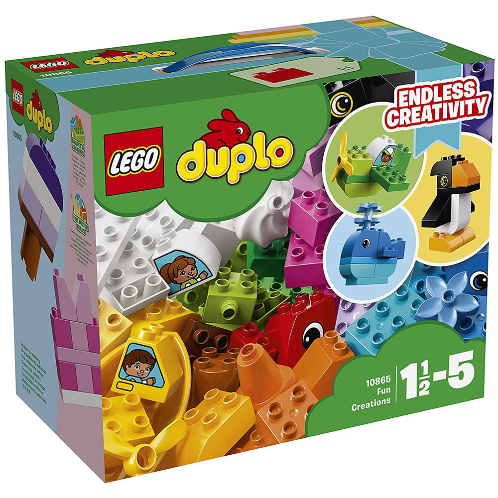 lego® duplo® - creatii distractive (10865)