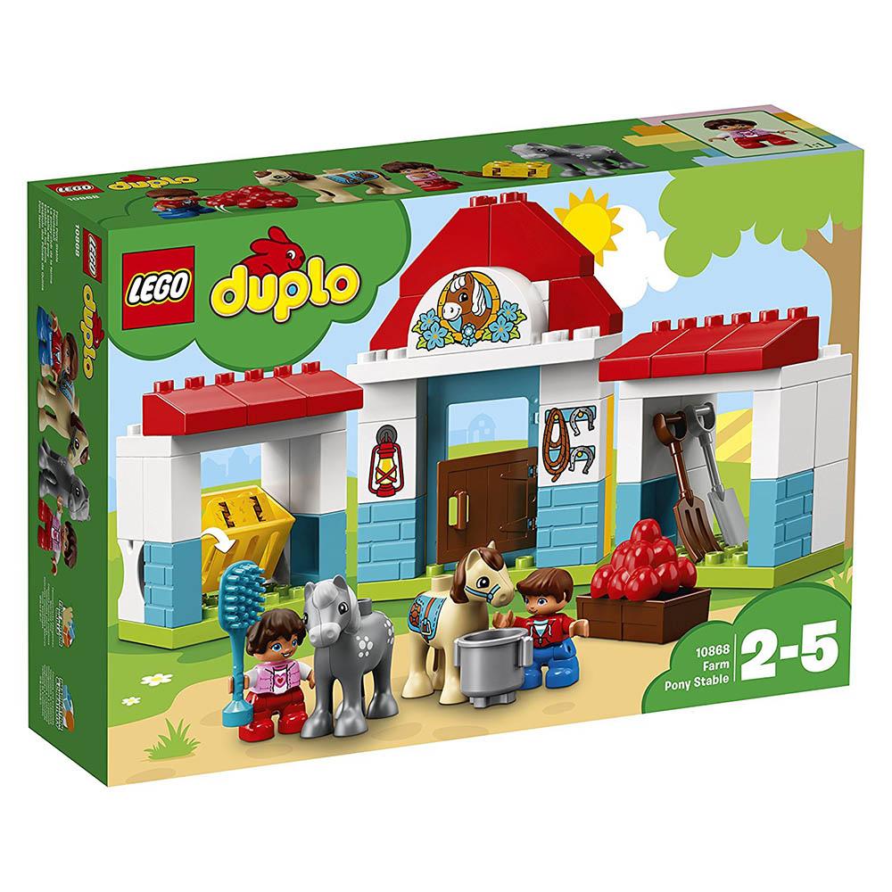 LEGO® DUPLO® - Grajdul poneilor (10868)