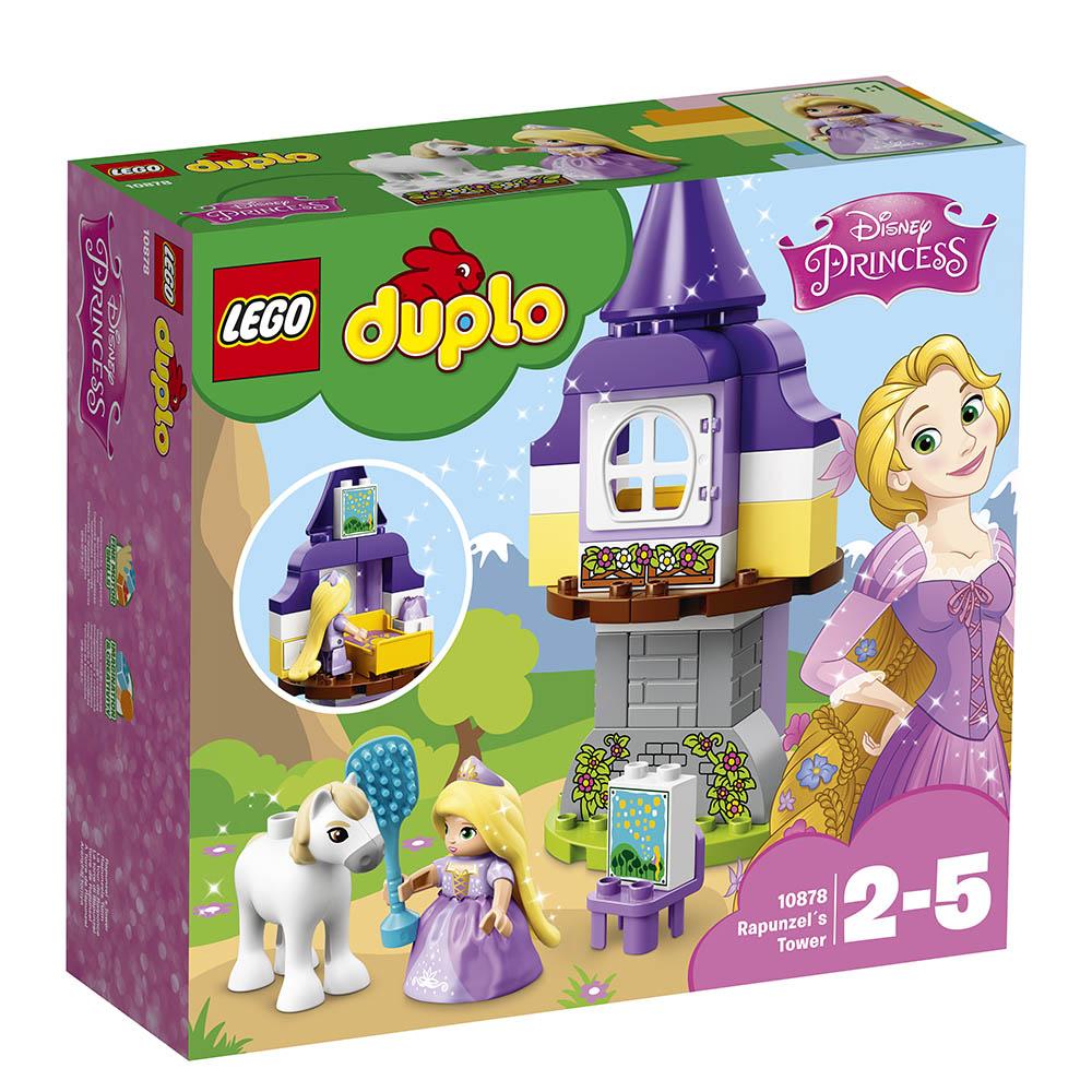 lego® duplo® - turnul lui rapunzel (10878)