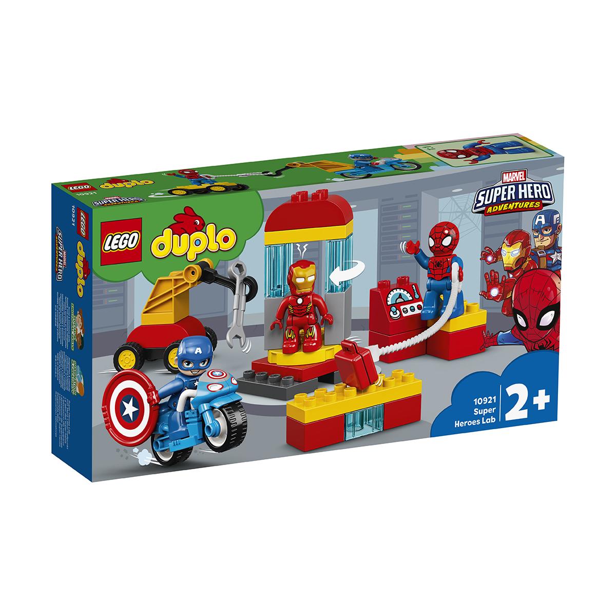 LEGO® DUPLO® - Laboratorul Super Heroes (10921)