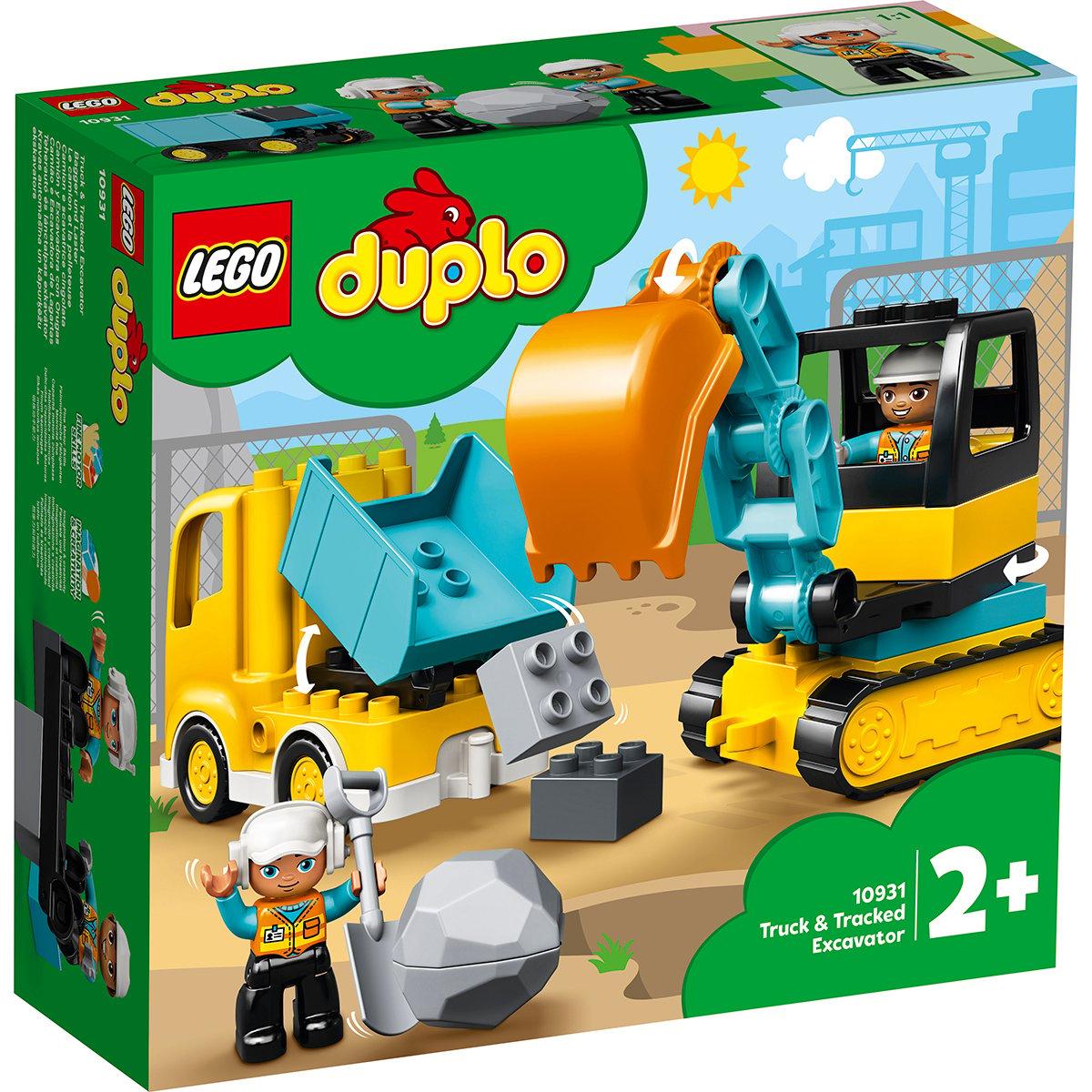 LEGO® DUPLO® - Camion si excavator pe senile (10931)
