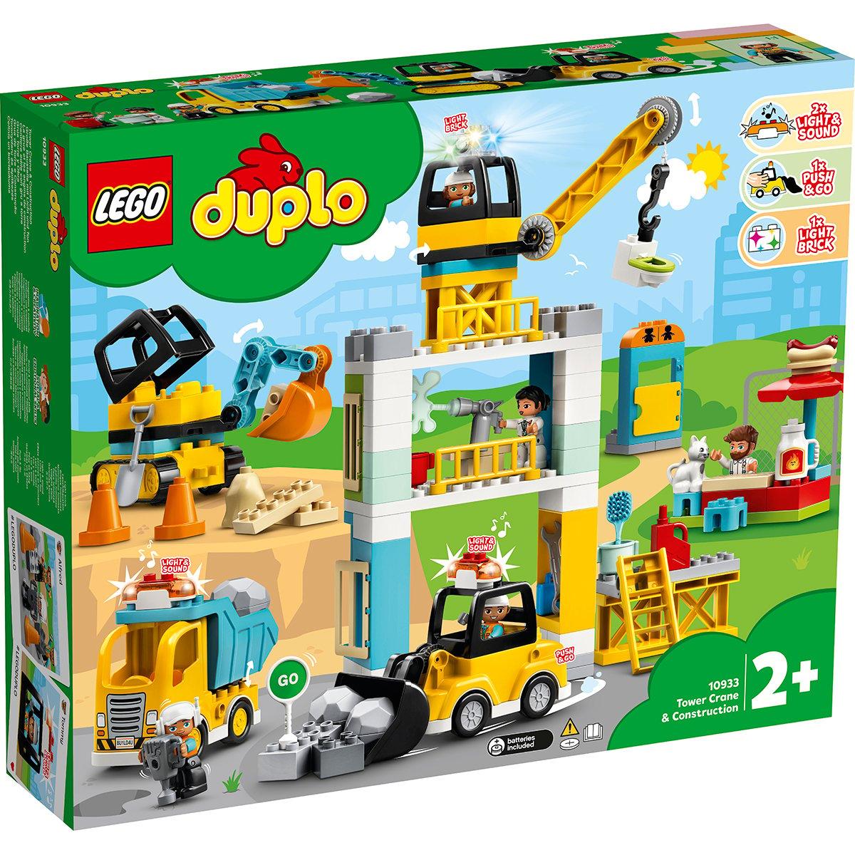 LEGO® DUPLO® - Macara si Constructie (10933)