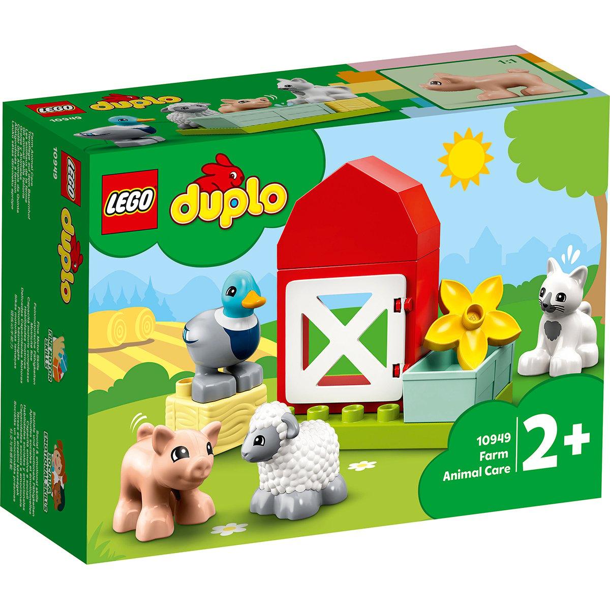 LEGO® DUPLO® Town - Animalele de la ferma (10949)