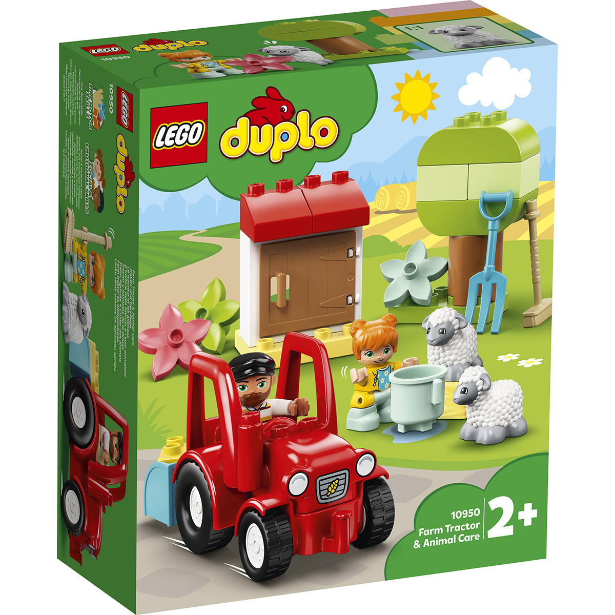 LEGO® DUPLO® Town - Tractor agricol (10950)