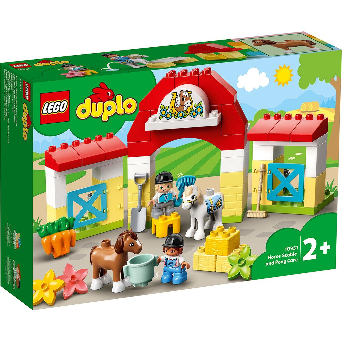 LEGO® DUPLO® Town - Grajdul poneilor (10951)