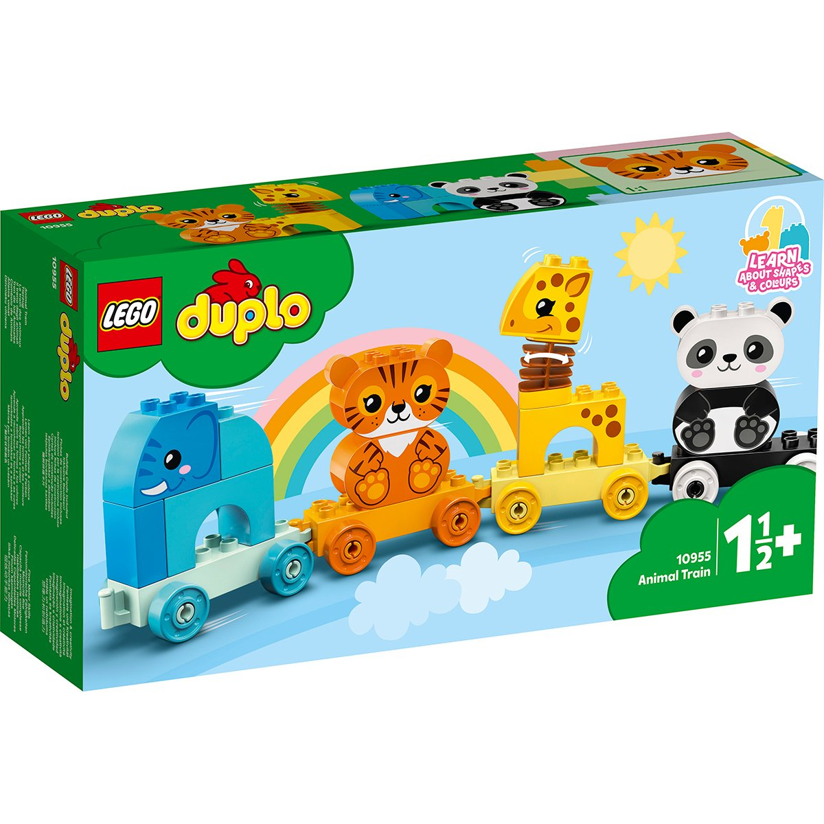 LEGO® DUPLO® - Primul meu tren cu animale (10955)