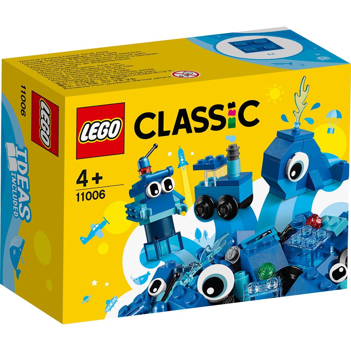 LEGO® Classic - Caramizi creative albastre (11006)