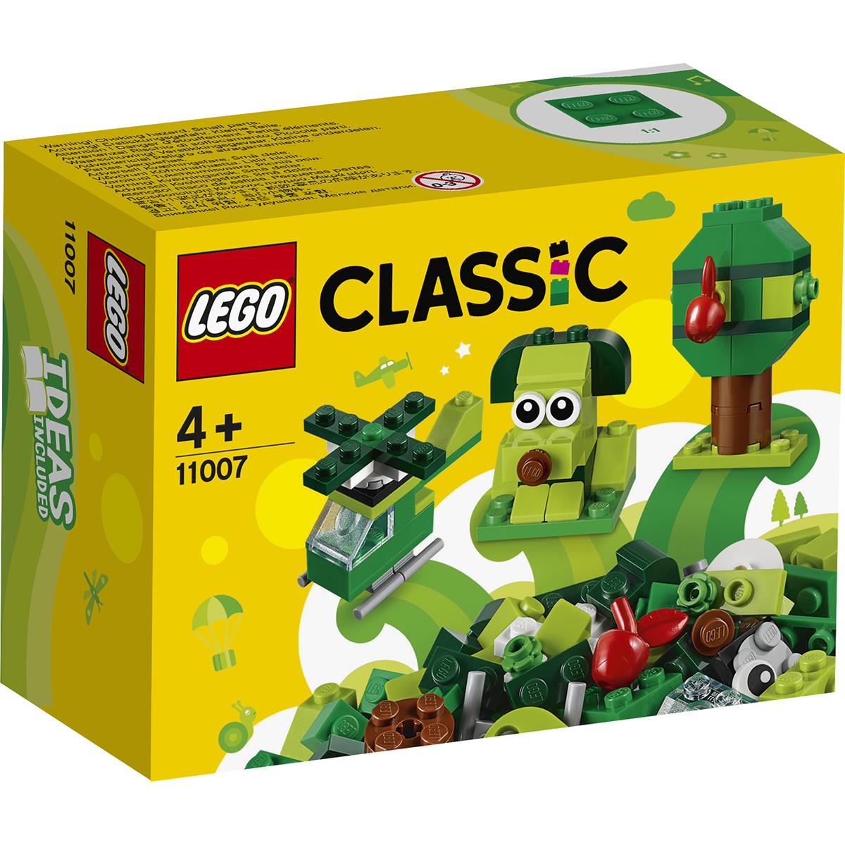 LEGO® Classic - Caramizi creative verzi (11007)