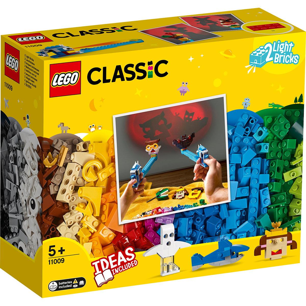 LEGO® Classic - Caramizi si lumini (11009)