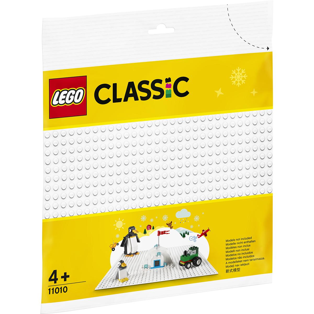 LEGO® Classic - Placa de baza alba (11010)