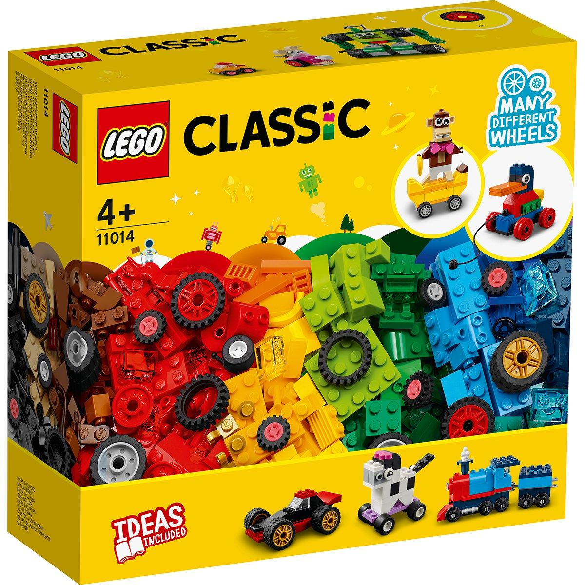 LEGO® Classic - Caramizi si roti (11014)
