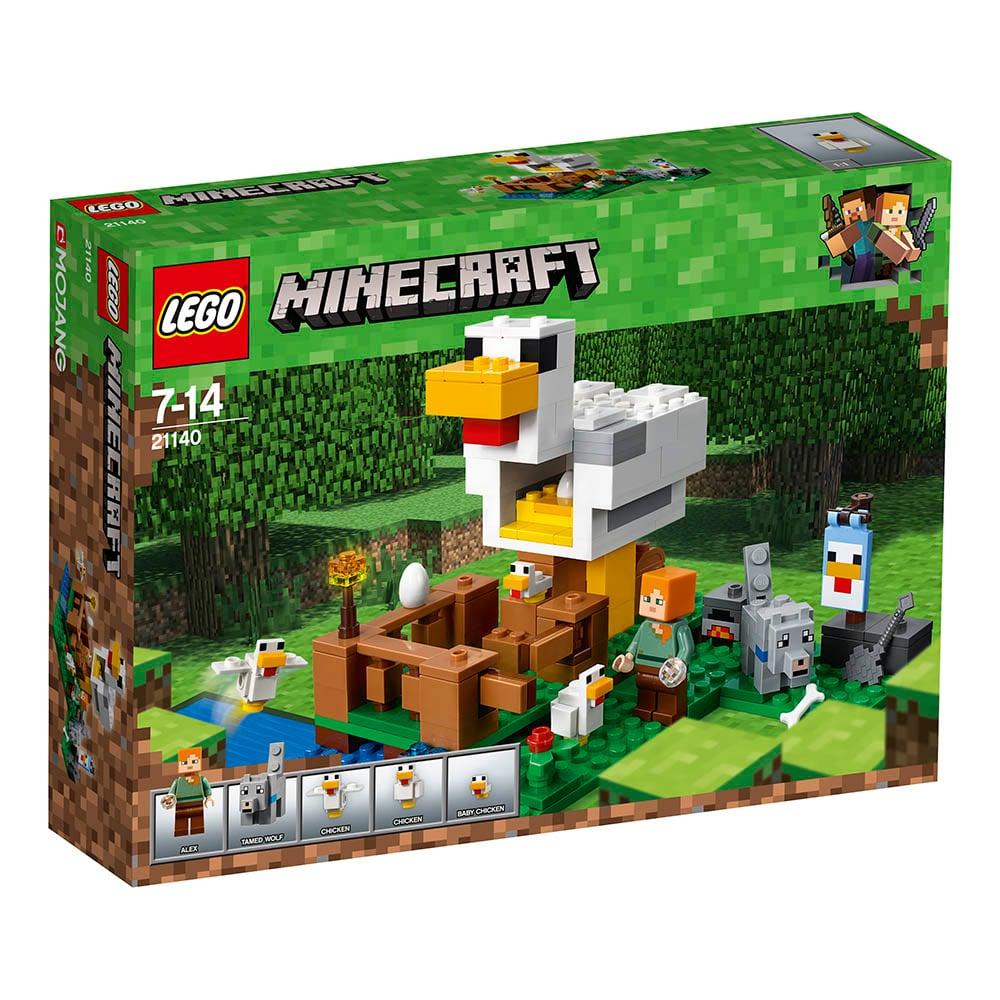 lego® minecraft™ - cotetul de gaini (21140)