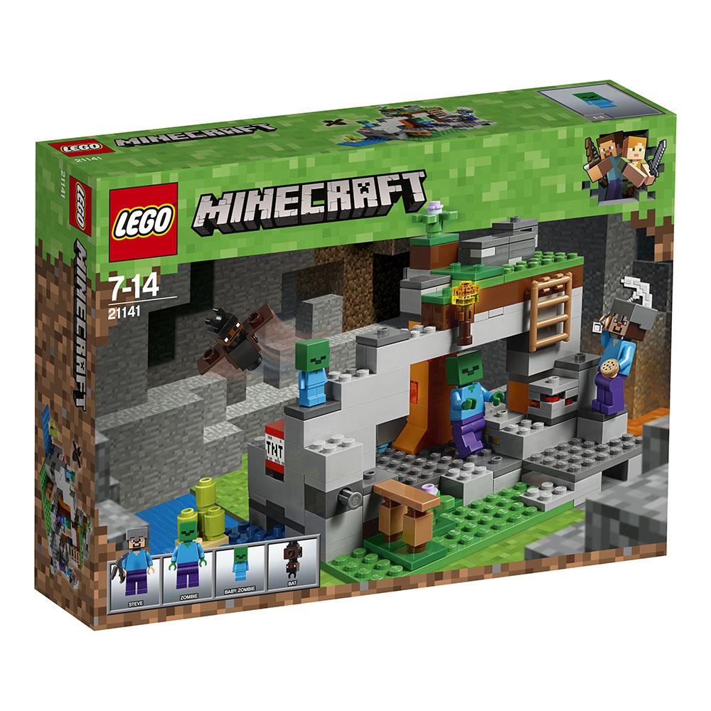 Poza LEGO® Minecraft™ - Pestera cu zombi (21141)