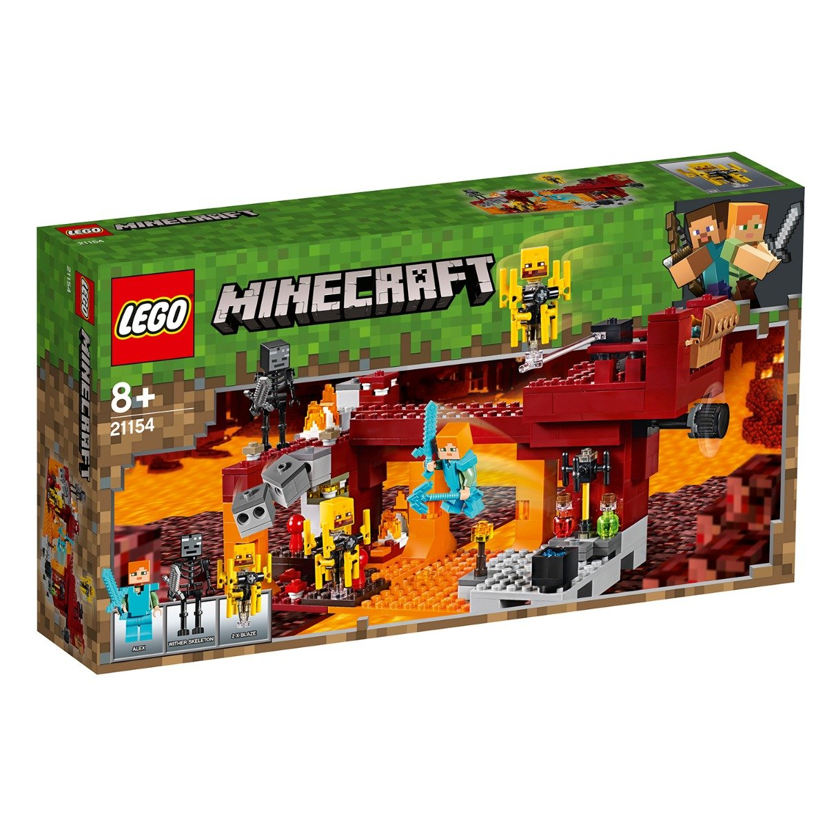 LEGO® Minecraft™ - Podul Flacarilor (21154)