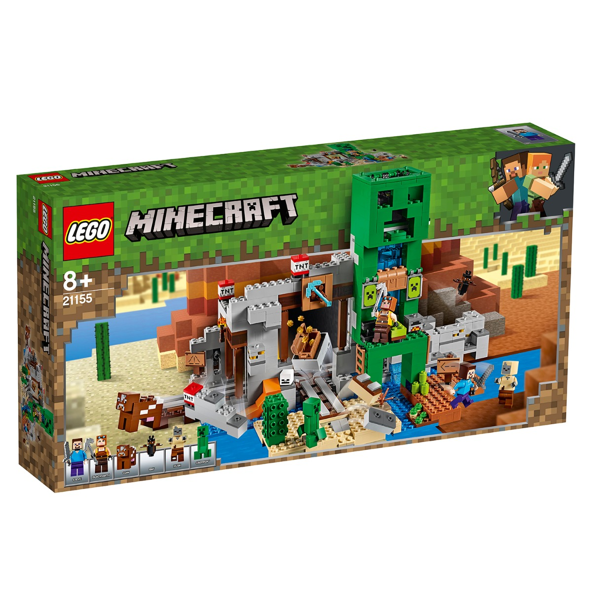 LEGO® Minecraft™ - Mina Creeper™ (21155)