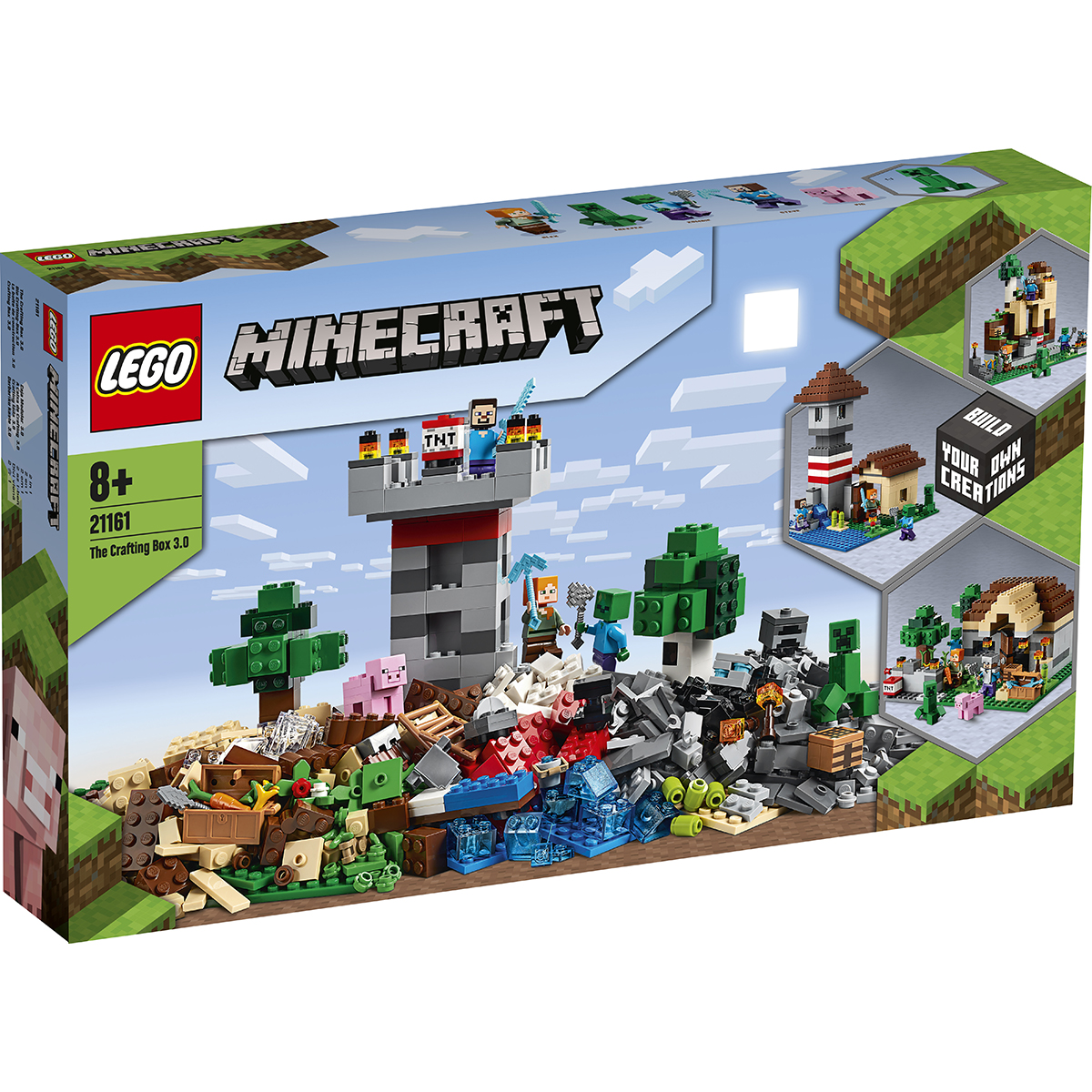 Lego® Minecraft™ - Cutie De Crafting 3.0 (21161)