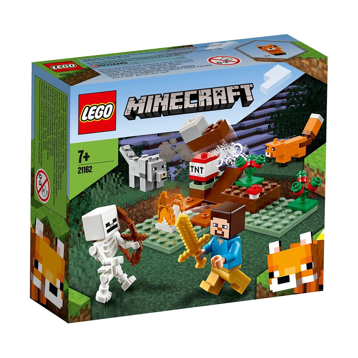 LEGO® Minecraft™ - Aventura din Taiga (21162)