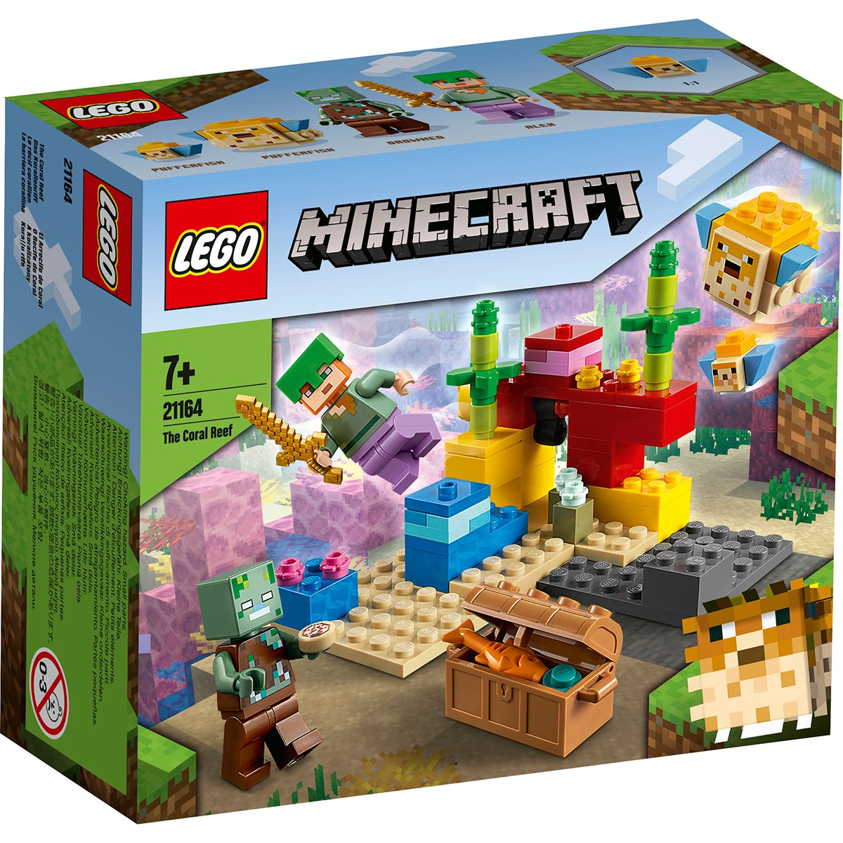 LEGO® Minecraft™ - Reciful de corali (21164)