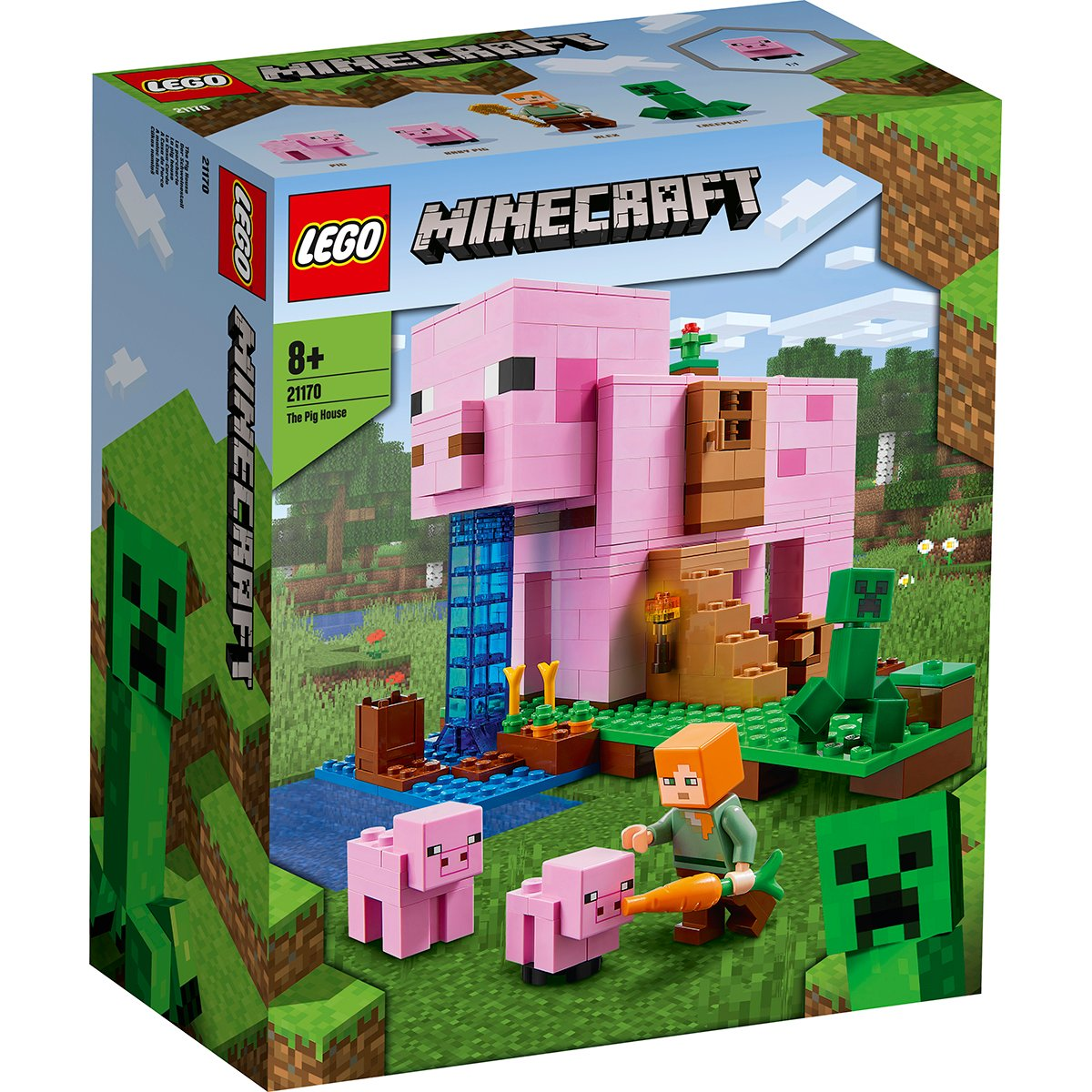LEGO® Minecraft™ - Casa purcelusilor (21170)