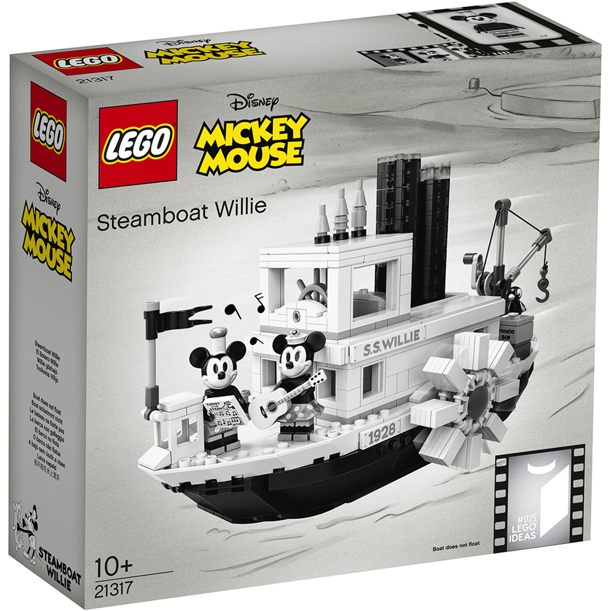 LEGO® Ideas - Nava cu abur Willie (21317)