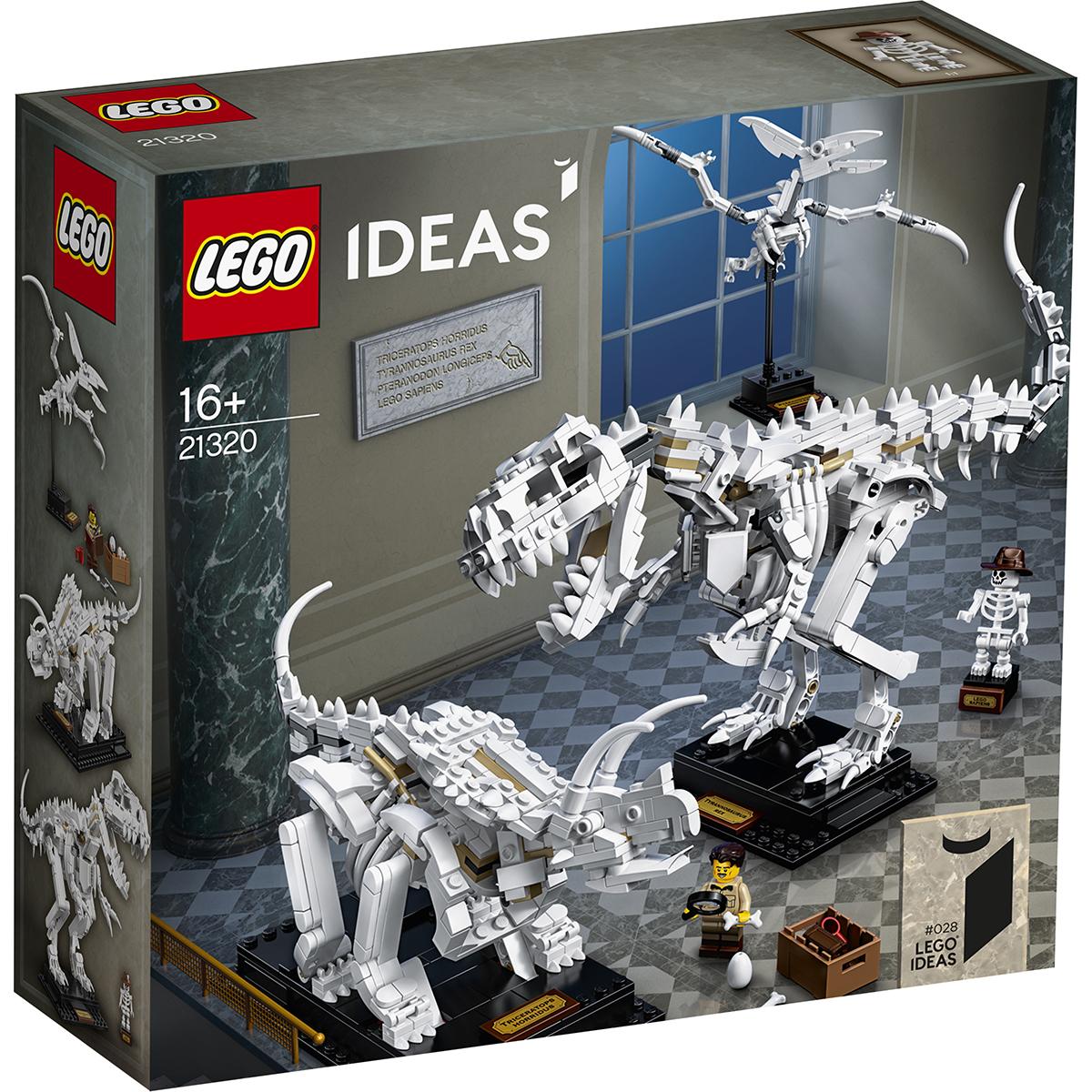 LEGO® Ideas - Fosile de dinozauri (21320)
