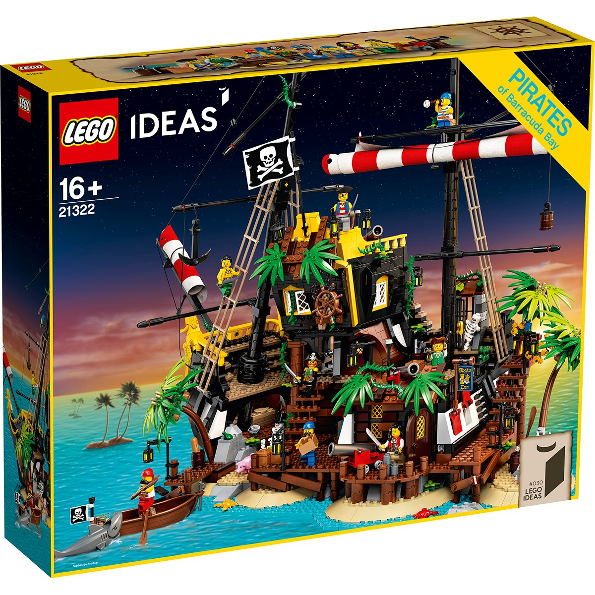 LEGO® Ideas - Piratii din Golful Barracuda (21322)