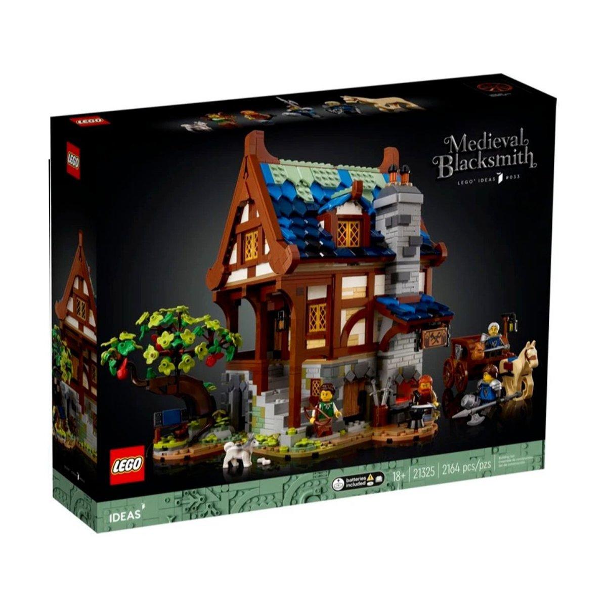 LEGO® Ideas - Medieval Blacksmith (21325)