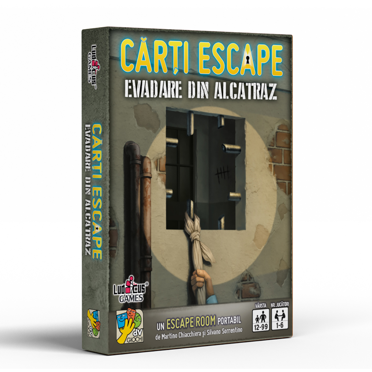Joc de societate dV Giochi, Carti Escape, Evadarea din Alcatraz