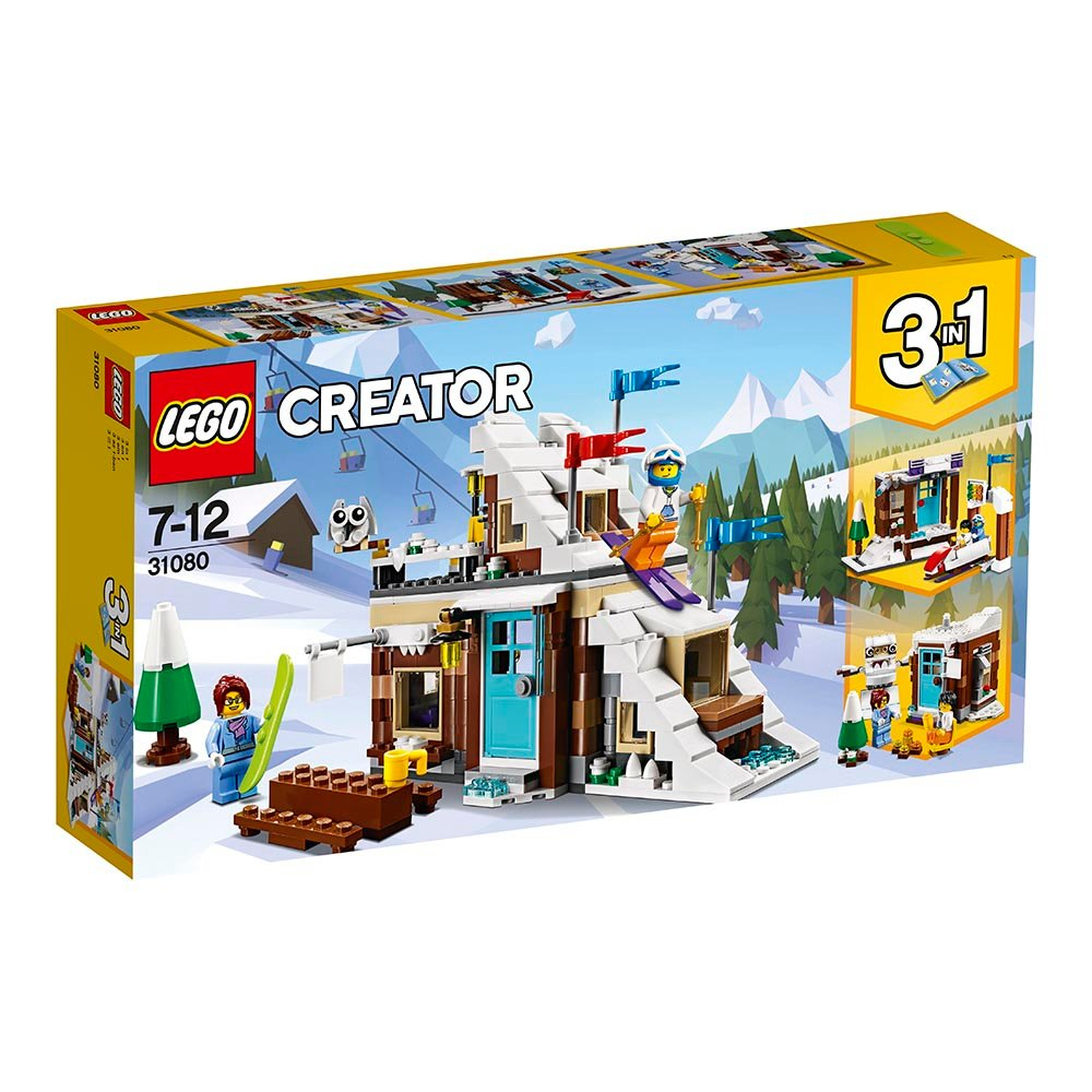lego® creator - vacanta de iarna modulara (31080)