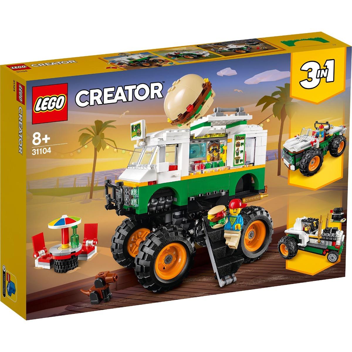 LEGO® Creator – Camion gigant cu burger (31104)