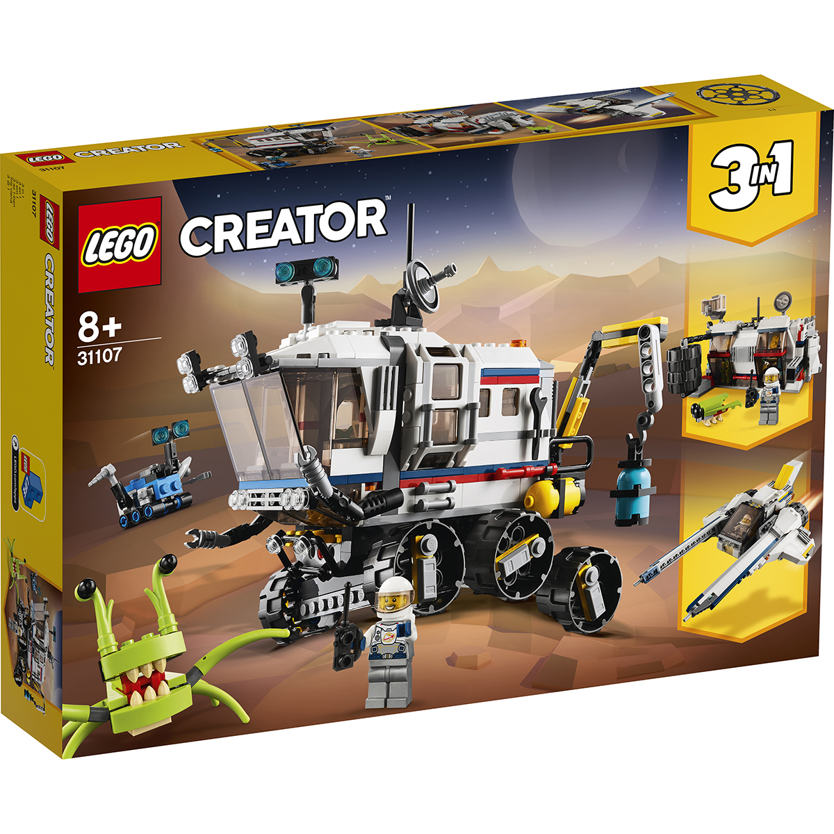 Lego® Creator - Explorator Spatial Rover (31107)