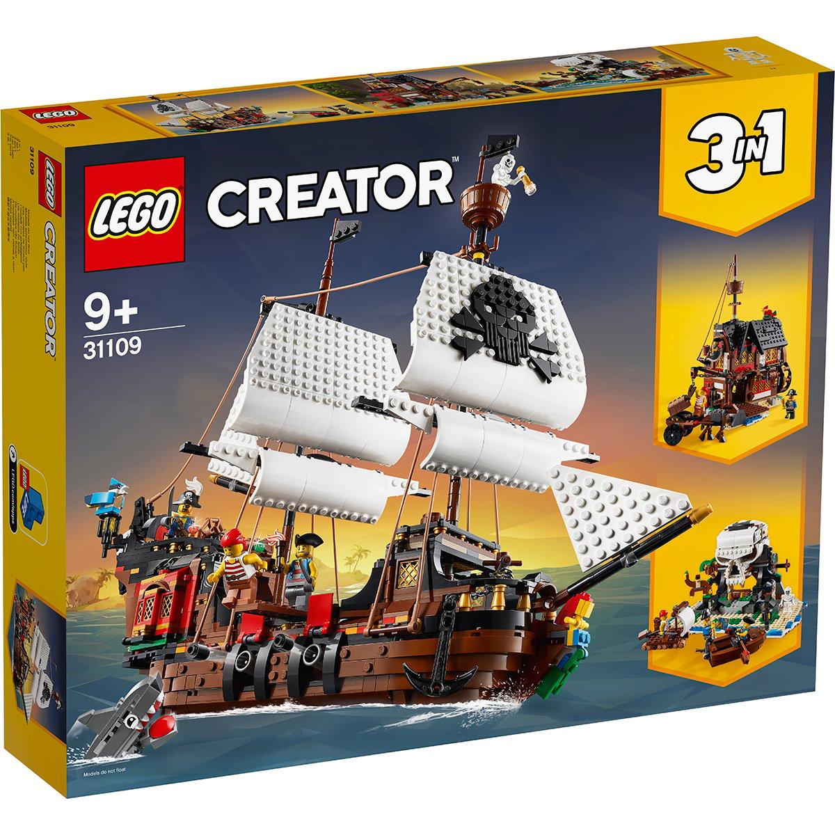 LEGO® Creator - Corabie de pirati (31109)