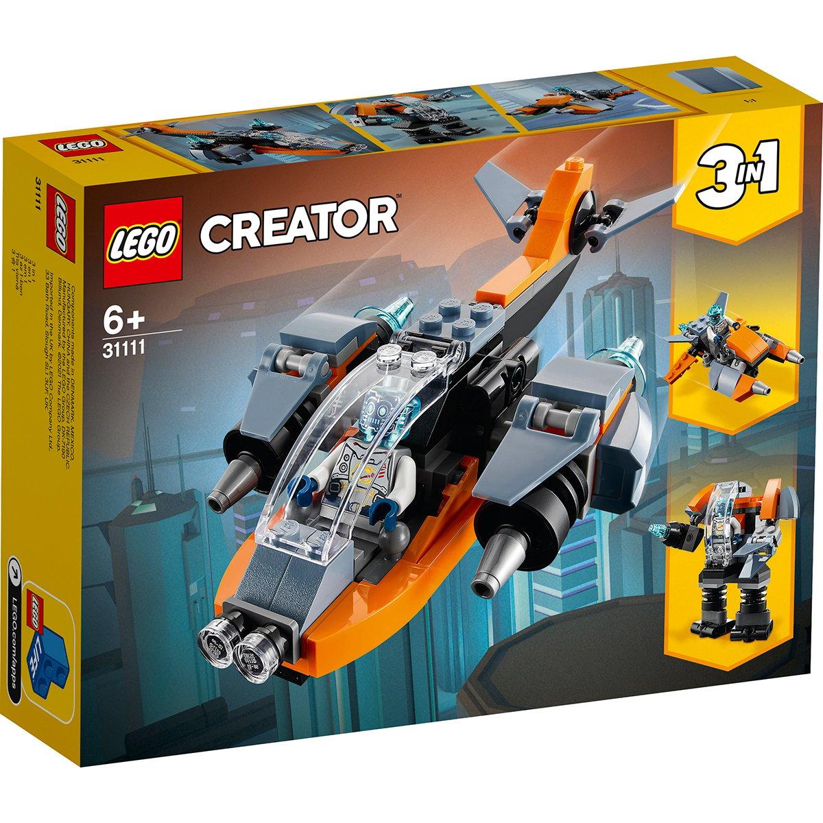 LEGO® Creator - Drona cibernetica (31111)