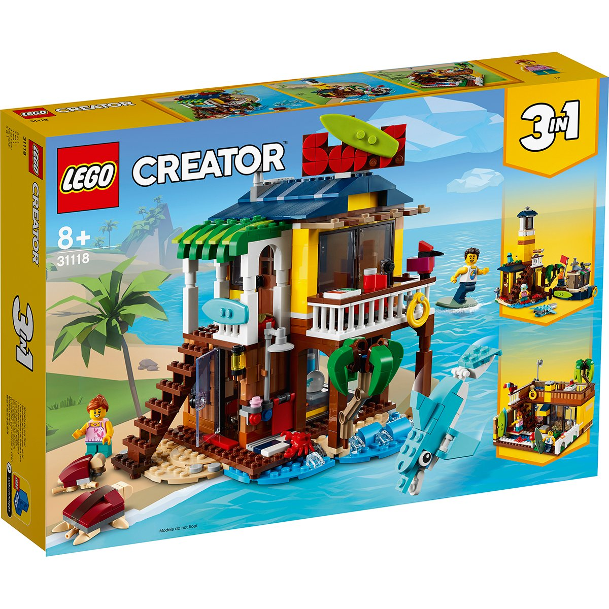 LEGO® Creator - Casa de pe plaja a surferilor (31118)
