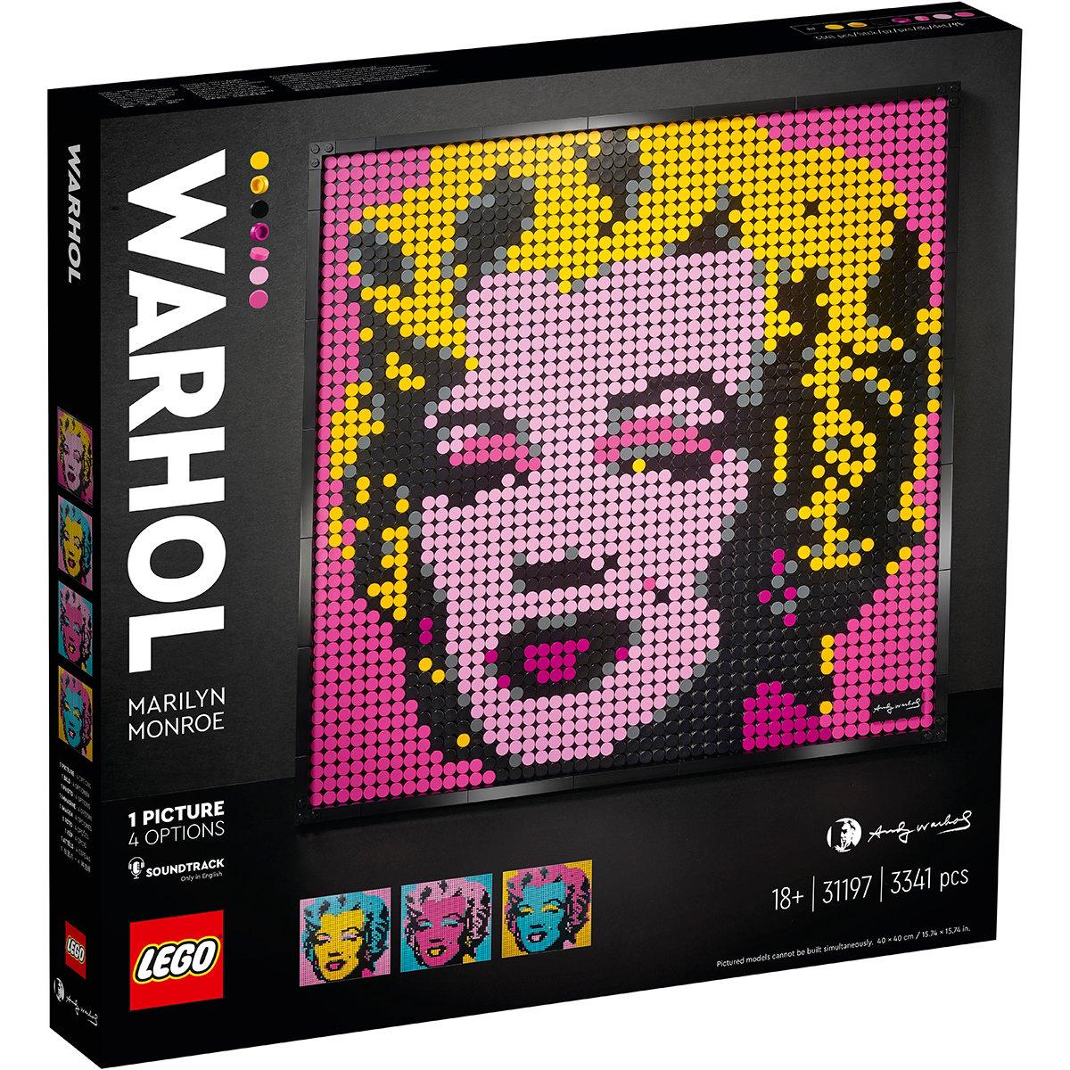 Lego® Art - Andy Warhol's Marilyn Monroe (31197)