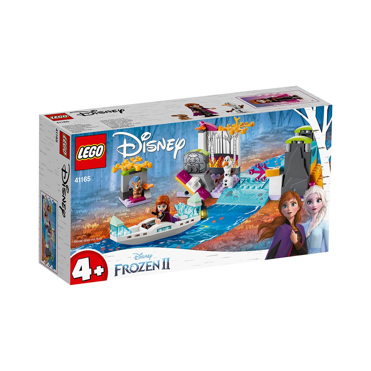 LEGO® Disney Frozen 2 - Expeditia cu Canoe a Anei (41165)